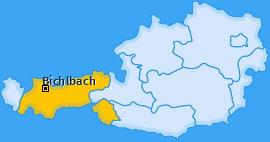 Karte von Bichlbach