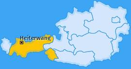 Karte von Heiterwang
