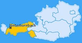 Karte von Hinterhornbach