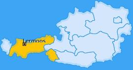 Karte von Lermoos