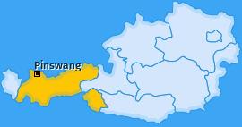 Karte von Pinswang