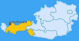 Karte von Schattwald