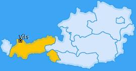 Karte von Vils