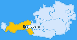 Karte von Brandberg
