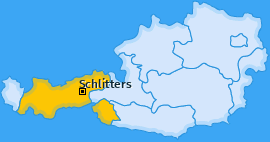 Karte von Schlitters