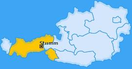 Karte von Stumm
