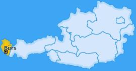 Karte von Bürs