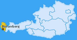 Karte von Bürserberg