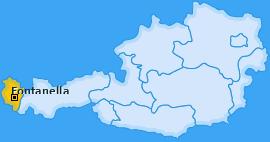 Karte von Fontanella