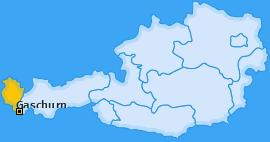 Karte von Gaschurn