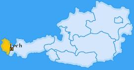 Karte von Lech