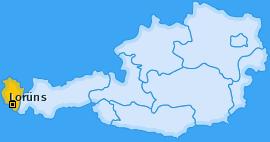 Karte von Lorüns