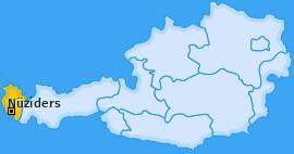 Karte von Nüziders