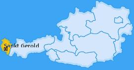 Karte von Sankt Gerold