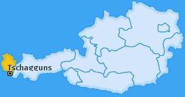 Karte von Tschagguns