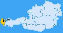 Karte von Bizau
