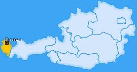 Karte von Doren