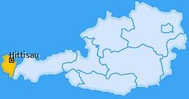 Karte von Hittisau