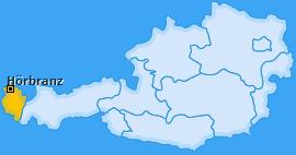 Karte von Hörbranz