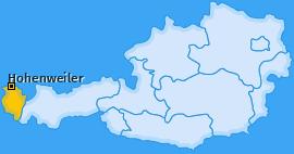 Karte von Hohenweiler