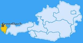 Karte von Kennelbach