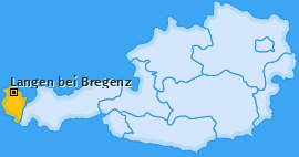 Karte von Langen bei Bregenz