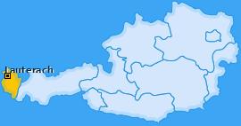 Karte von Lauterach