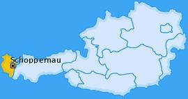 Karte von Schoppernau