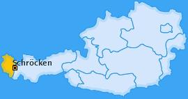 Karte von Schröcken