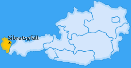 Karte von Sibratsgfäll