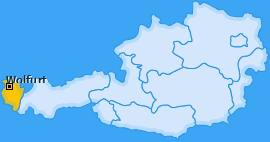 Karte von Wolfurt