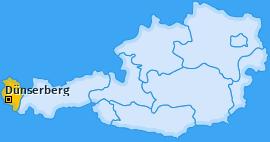 Karte von Dünserberg