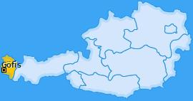 Karte von Göfis