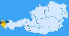 Karte von Mäder