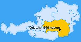 Karte von Geistthal-Södingberg