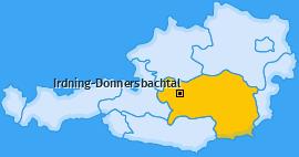Karte von Irdning-Donnersbachtal