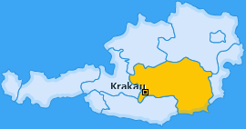 Karte von Krakau