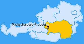 Karte von Michaelerberg-Pruggern