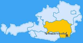 Karte von Schwarzautal