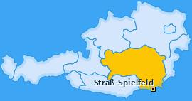 Karte von Straß-Spielfeld