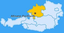 Karte Steinhübl Attnang-Puchheim