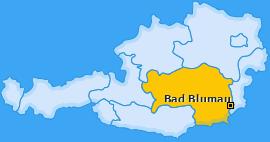 Karte von Bad Blumau