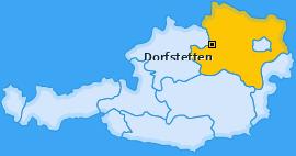 Karte von Dorfstetten