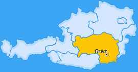 Karte Gösting Graz