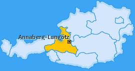 Karte von Annaberg-Lungötz