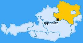 Karte von Opponitz