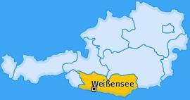 Karte von Weißensee