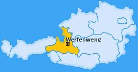 Karte von Werfenweng