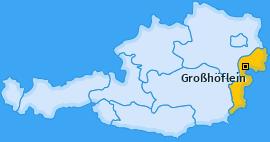 Karte von Großhöflein