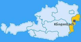 Karte von Klingenbach